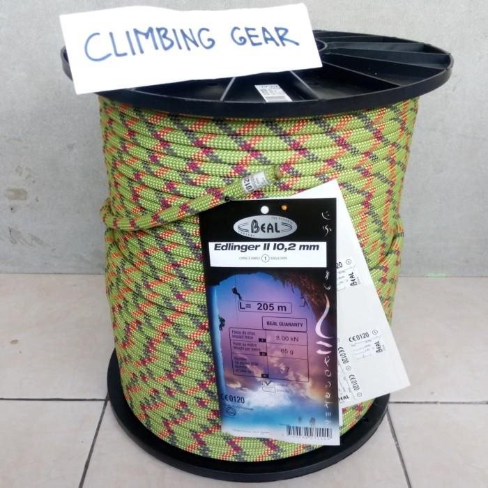 harga Beal edlinger 102 mm tali karmantel dinamis climbing not simond petzl Tokopedia.com