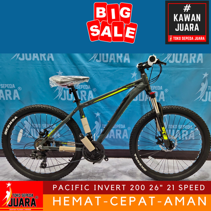 Sepeda Gunung Pacific Invert 200 - Arena Modifikasi