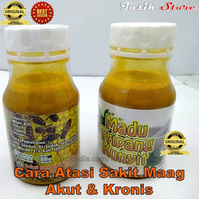 Foto Produk Obat Herbal Maag Madu Tripang Kunyit Gerd Madu Maag Jeli Jely Gamat dari Tasik Store
