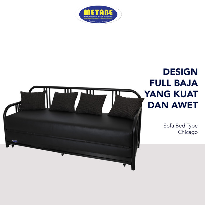 Promo Sofa Bed Type Chicago Metabe