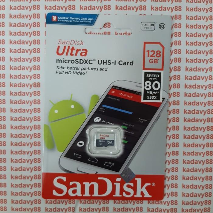 Foto Produk Memori MicroSD Sandisk 128gb 80mb/s dari KHATA ACC