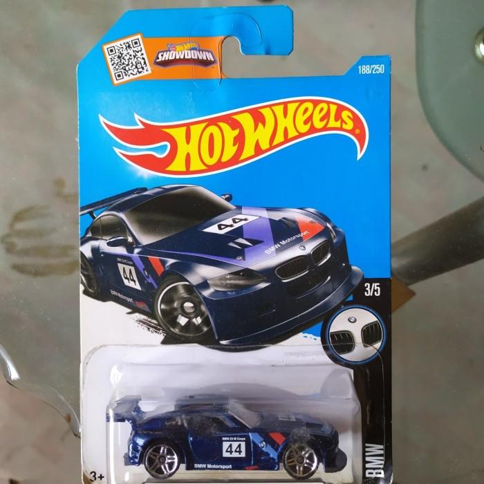 BMW Z4 M Motorsport Blue Hot Wheels