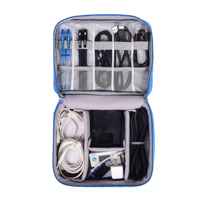 harga Tas hp kabel usb charger pouch makeup travel import serbaguna Tokopedia.com