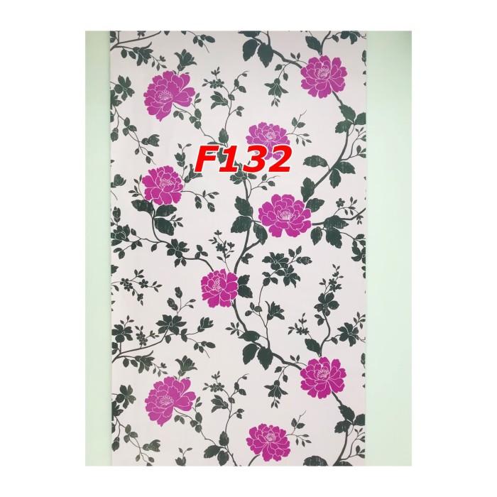 Jual F132 Wallpaper Dinding Bunga Cantik Wallpaper Sticker