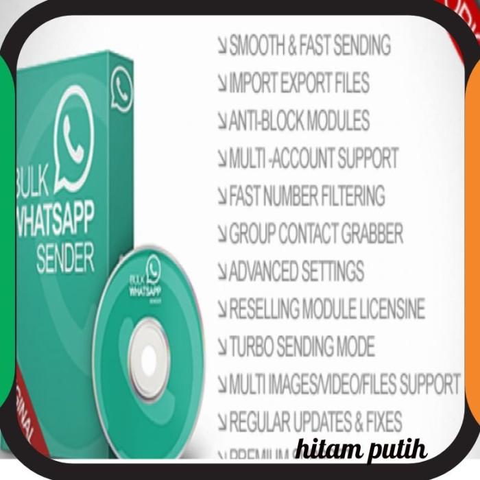 Jual Bulk Whatsapp Sender V 4 5/ WA MAGIC/ WA FLAZZ TER UPDATE APRIL 2019 -  DKI Jakarta - Hitampoetih | Tokopedia