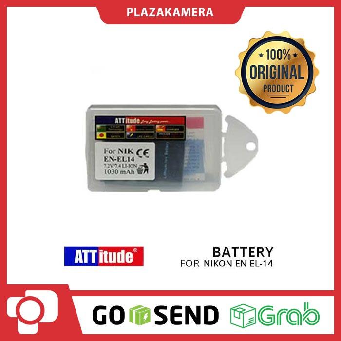 harga Att battery for nikon en el-14 Tokopedia.com