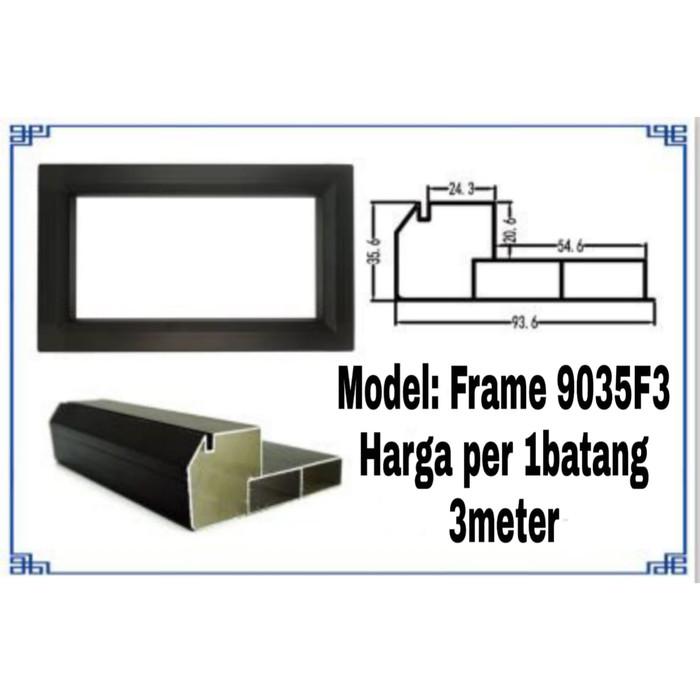 Foto Produk Frame Casing Running Text 1sisi 9035F3 Outdoor 3meter dari FAN LED Reklame