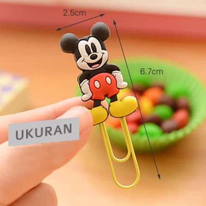 Foto Produk CARTOON Paper Clip/ Klip Kertas/ Bookmark - DUA EMPAT dari Evi Sayono