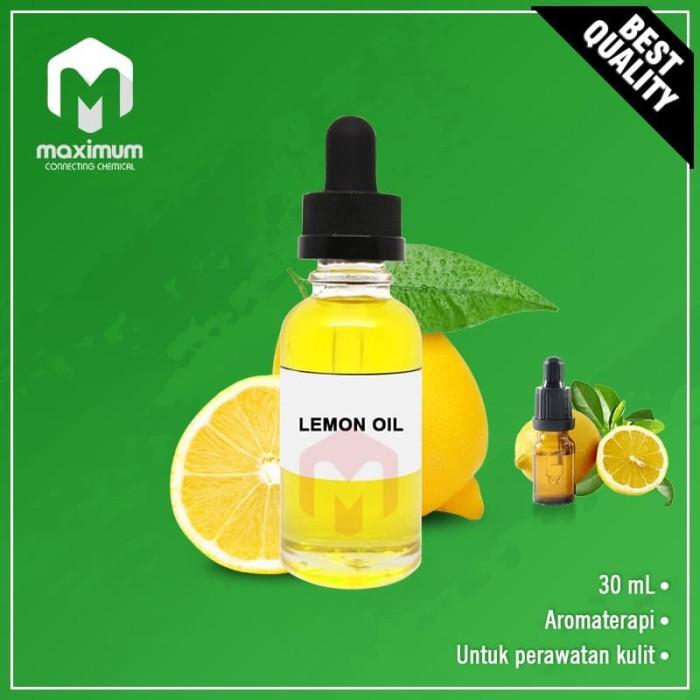 Foto Produk 100% Pure Lemon Essential Oil / Minyak Lemon Murni 30ml dari Maximum Chemical