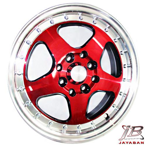 harga Velg racing ring 14 inch brave rs red pcd 4x100 / 4x114.3 agya ayla Tokopedia.com