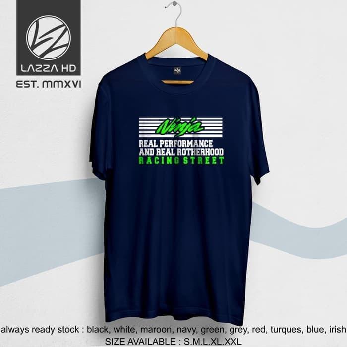 Jual Kaos Tshirt Distro Kawasaki Ninja Racing Street Terlaris Kota Banjar Twind All Shop Tokopedia
