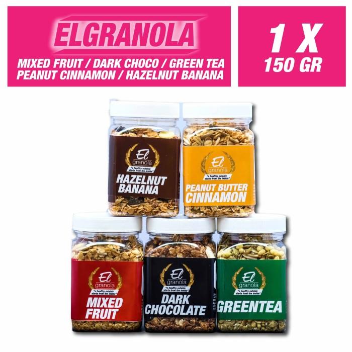 harga El granola 150 gr - dark choco Tokopedia.com