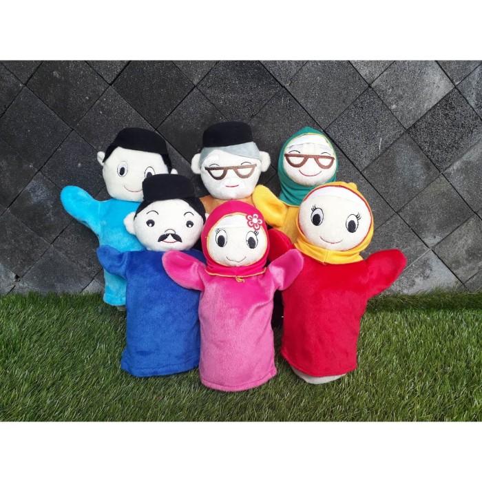 Jual Boneka Tangan Keluarga Family Muslim Ayah Ibu Kakek Nenek Anak 1 Pc Kota Yogyakarta Tr Mascot Shop Tokopedia