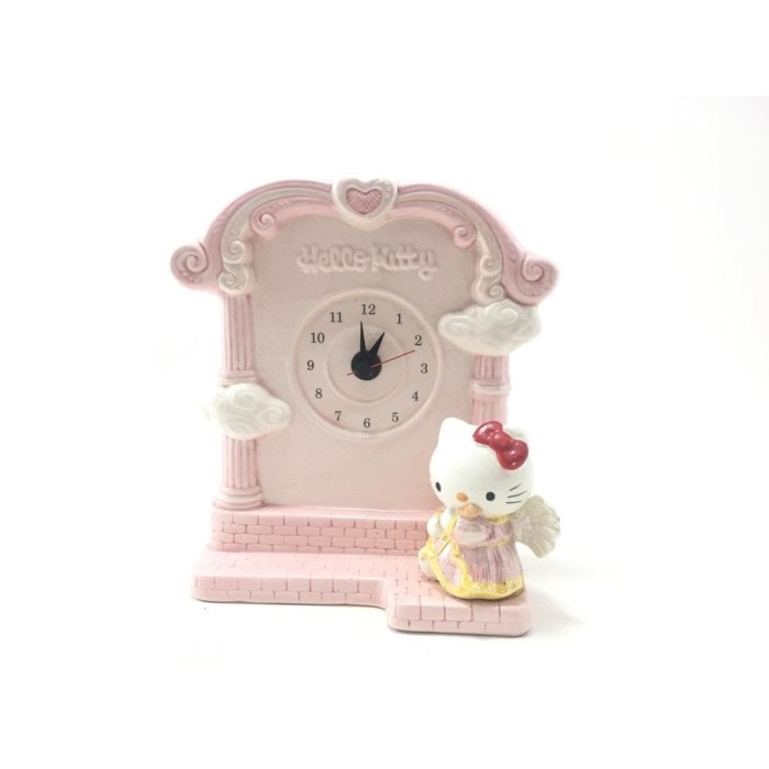 Jual Hello Kitty Angel Playing Harp Table Clock Import Jam Meja Kota Surabaya Kanagiftshop Tokopedia