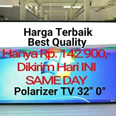 harga Plastik polarizer lcd 32  polarizer 32 inch polarizer 32inch Tokopedia.com