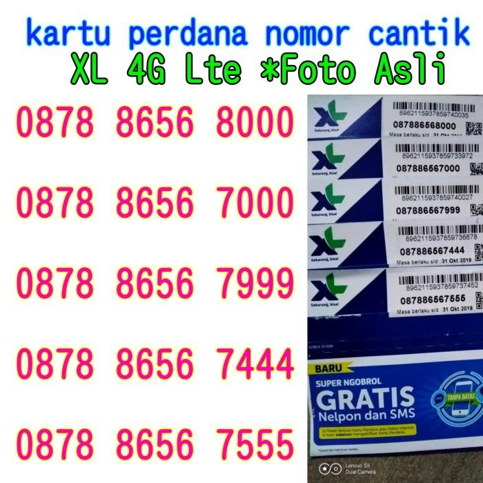 Jual kartu perdana nomor cantik double 44 triple 666 777 888 999 000 XL 4G  - DKI Jakarta - iis iswah olshop   Tokopedia