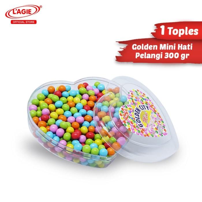 harga Lagie coklat biskuit mini hati pelangi 300gr Tokopedia.com