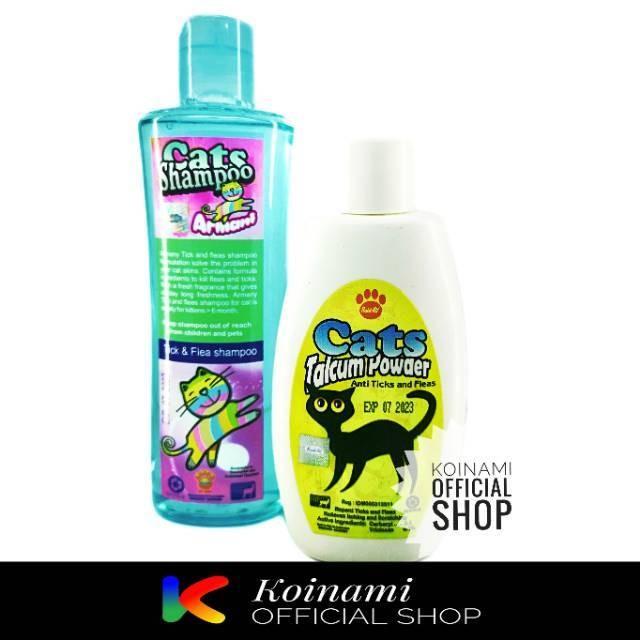 Jual Paket Isi Shampo Armani Tick Flea 200gr Dan Talkum Cat Tick Flea 100gr Jakarta Barat Belanjaayuuk Tokopedia