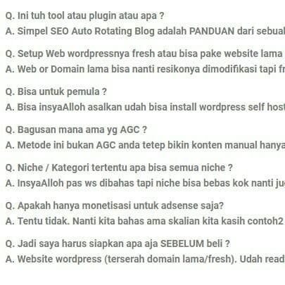 Jual Simpel Seo Auto Rotating Blog Seo Domination Yusuf Shembah Kab Langkat Mastah Nubi Tokopedia
