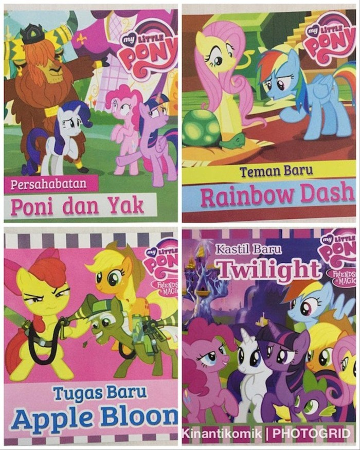 Jual Paling Murah Buku Anak My Little Pony Rainbow Dash Jakarta Timur Amelia Iman Tokopedia