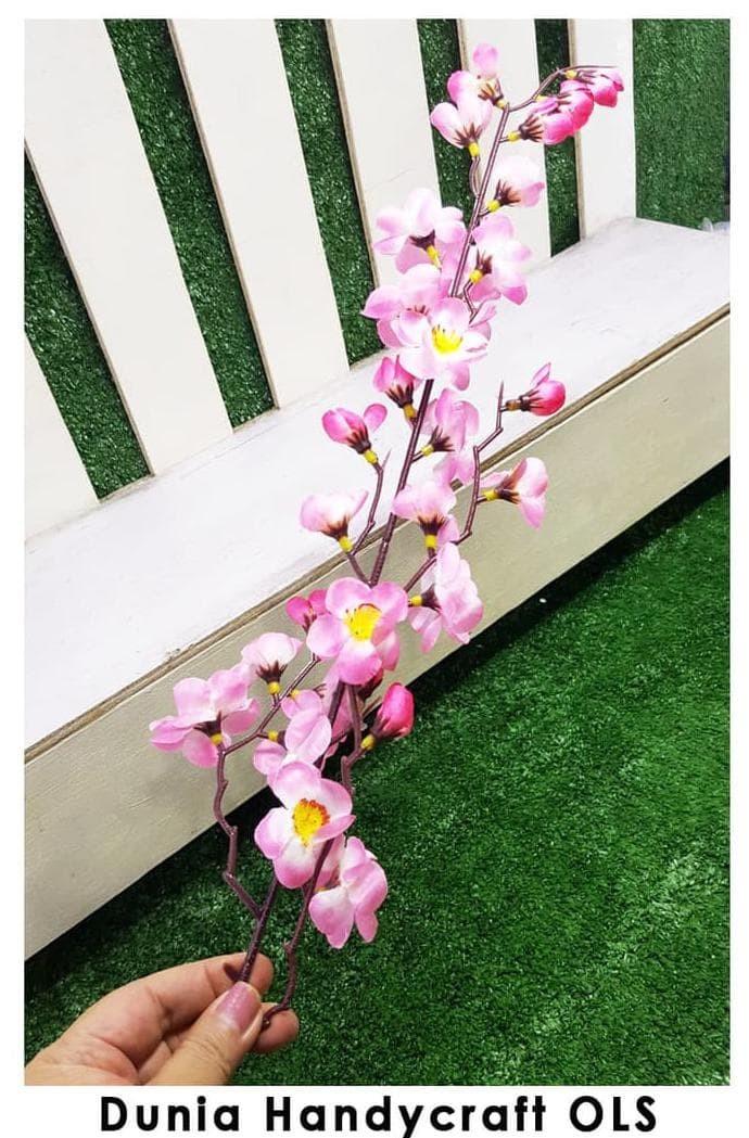 Jual Hot Sale Bunga Sakura Tangkai Hiasan Dekorasi Terjarmin Jakarta Barat Nurkinohop Tokopedia