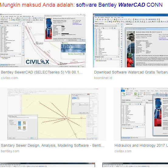 Jual Bentley SewerCAD CONNECT Edition v10 - Kab  Serang - Bisa Coba Soft |  Tokopedia