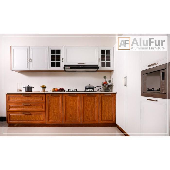 Jual Kitchen Set Aluminium Alufur Dapur Anti Rayap 100 Aluminium Kota Medan Alufur Tokopedia