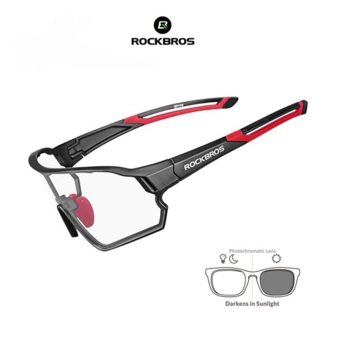 harga Rockbros 10135 photochromic sports sunglasses kacamata auto gelap Tokopedia.com