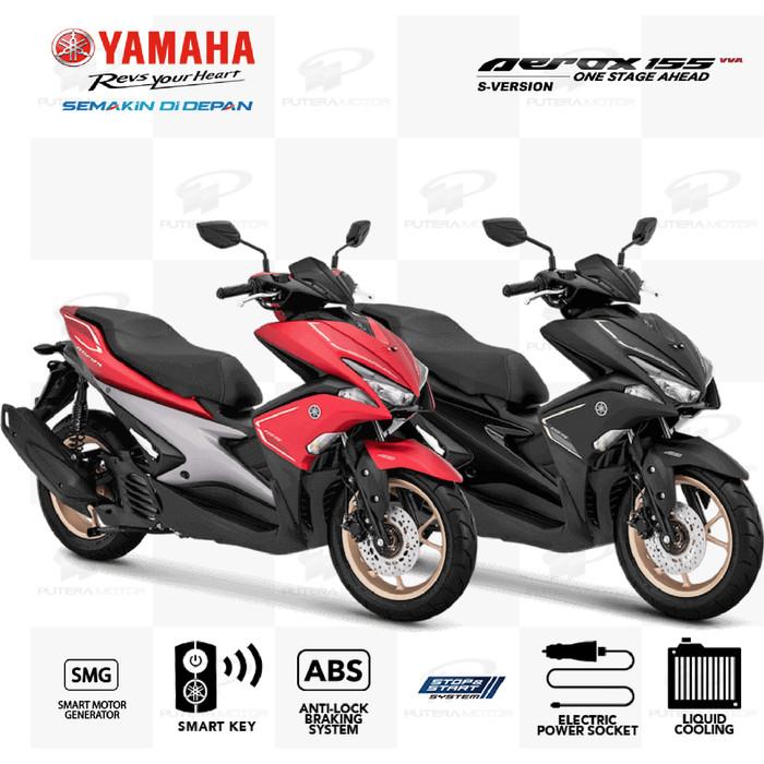 harga Yamaha aerox 155 s version [ pre ] - tangerang hitam Tokopedia.com