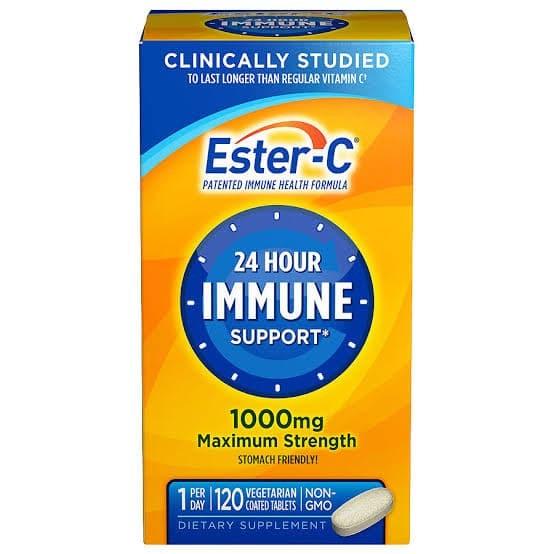 Foto Produk vitamin C ester C original USA non acidic aman di lambung dari Vitaminorganik