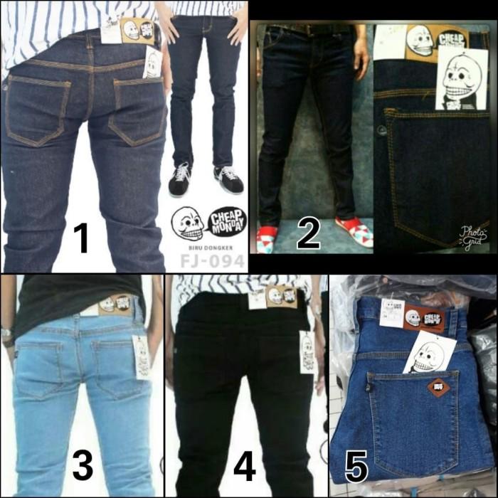 Foto Produk Celana Jeans Skinny Big Size Jumbo Cheap Monday Size 35-38 dari Pantsshopjeans