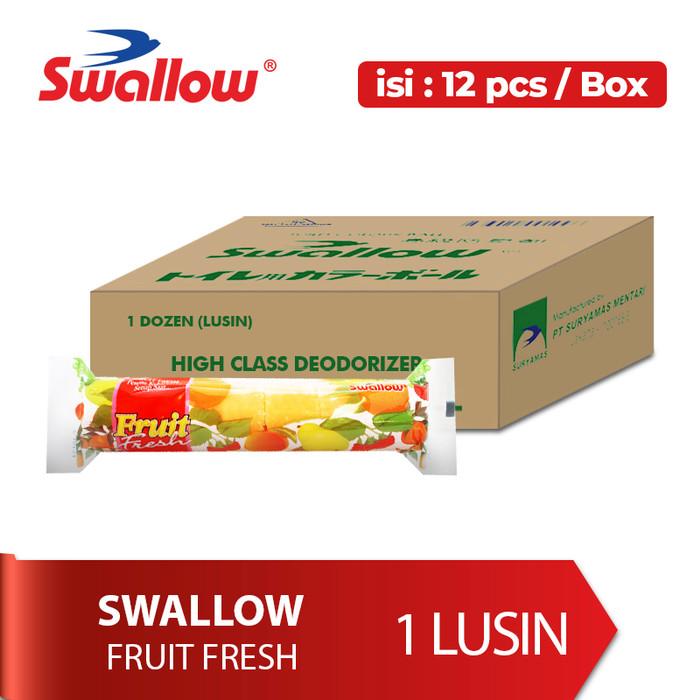 Foto Produk [1 lusin] SWALLOW FRUIT FRESH 6 PCS - Warna dan Aroma Random dari Bagus Official Store