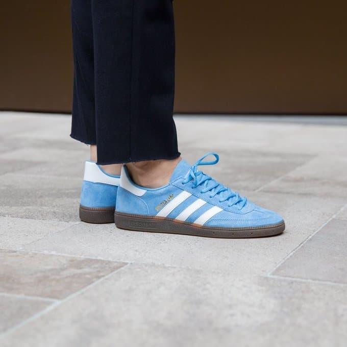 b4163f13e Jual Sepatu Casual Adidas Handball Spezial Light Blue Original 100 ...