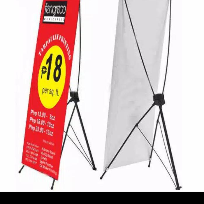 Jual Kaki Y Banner 60 X 160 Hitam Display Promosi Iklan Standing Spanduk Jakarta Barat Adt19 Tokopedia