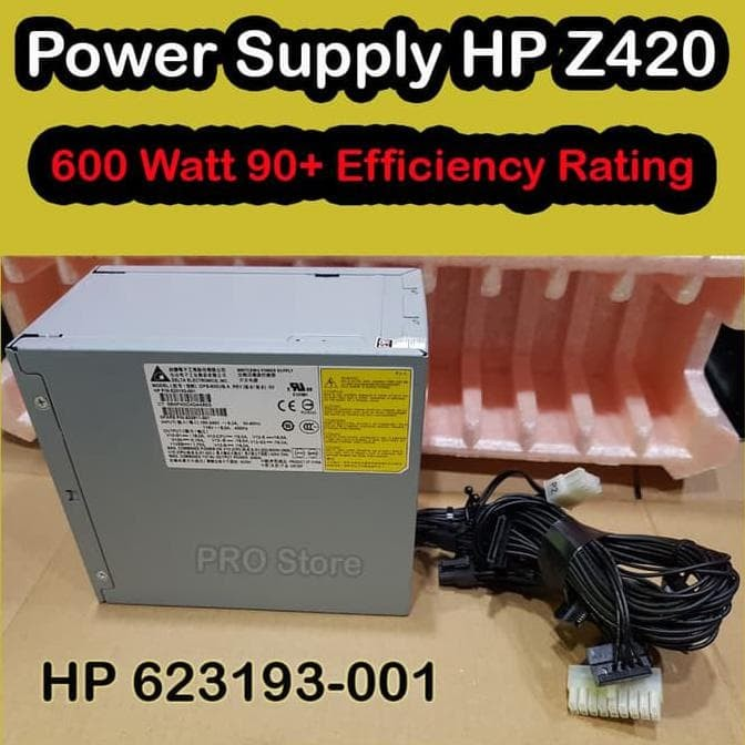 Jual New Power Supply Hp Z420   Psu Hp Z420 - Jakarta Pusat - tripigocom |  Tokopedia