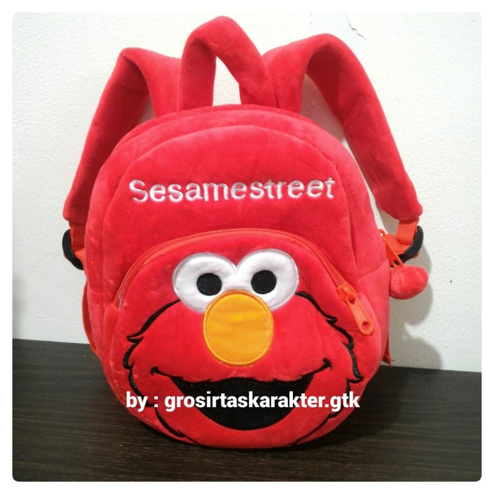 Jual Tas Sekolah Anak PAUD Karakter ELMO SESAME STREET Yellow Duck 25cm -  DKI Jakarta - Hits Boutique | Tokopedia