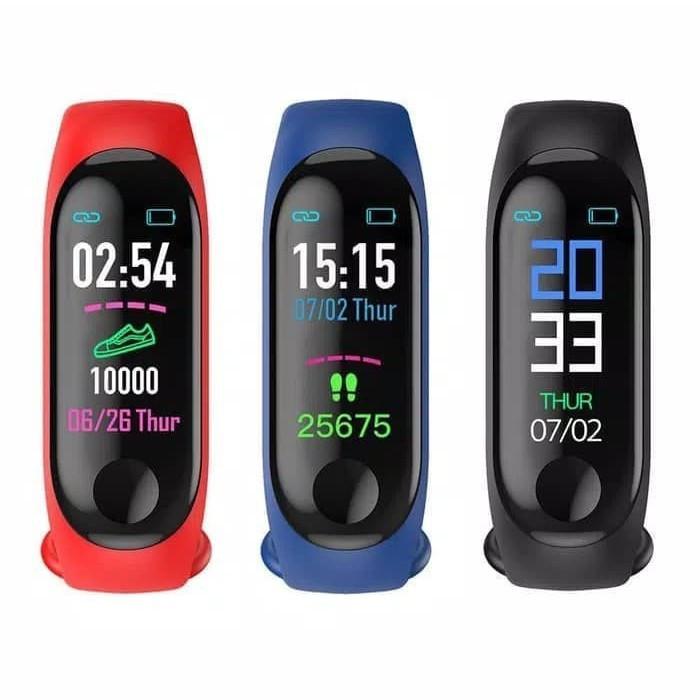 harga M3 smartband anti air dengan monitor tekanan darah Tokopedia.com