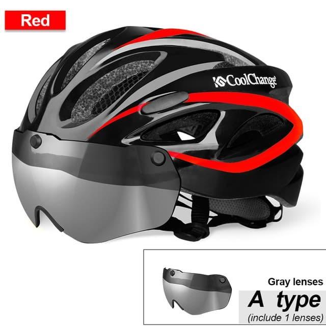 Jual CoolChange Helm Sepeda EPS Windproof Lens 19020