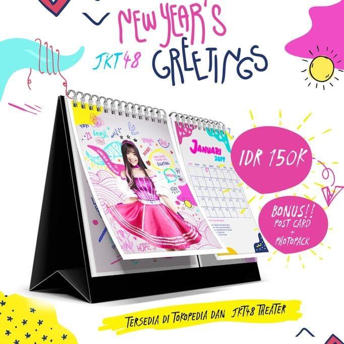Foto Produk JKT48 Kalender 2019 dari tiaranovitasari132