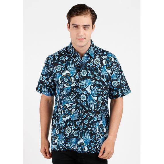 harga Kemeja batik sadewa ratangga lengan pendek - biru xl Tokopedia.com