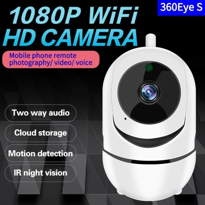 Foto Produk 1080P 2 MP, IP CAMERA, AUTO TRACKING, TF CARD MAX128GB + CLOUD dari DigitekMart