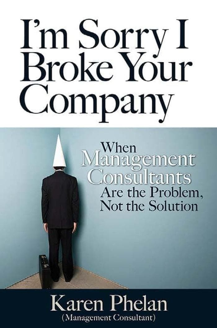 Jual I M Sorry I Broke Your Company When Management Consultants Ebook Kota Bandung Kios Mantap Jaya Tokopedia