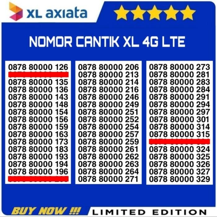 Jual Kartu Perdana Nomor Cantik No XL Indosat Telkomsel Simpati IM3 Axis -  Kota Tangerang - Nomor Cantik Nona Lina   Tokopedia
