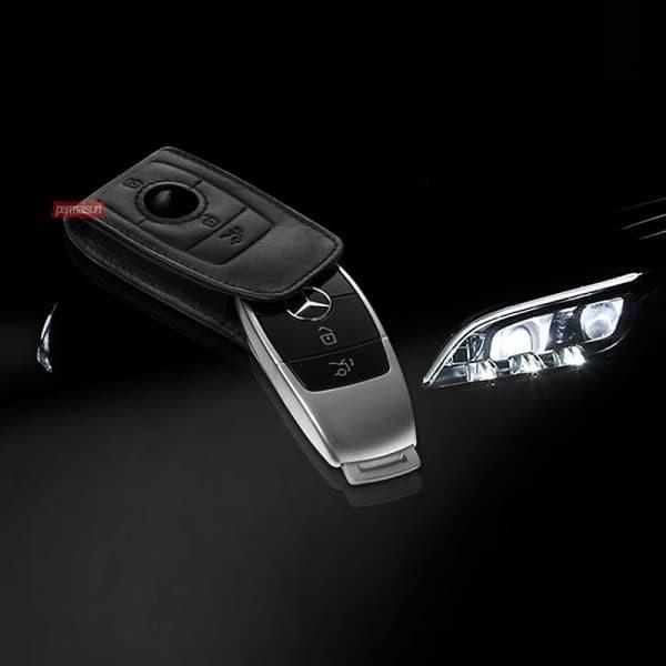 Foto Produk Permaisuri Key Sleeve Gen6 Black│Key Case Mobil Mercedes W213, W222 dari PERMAISURI