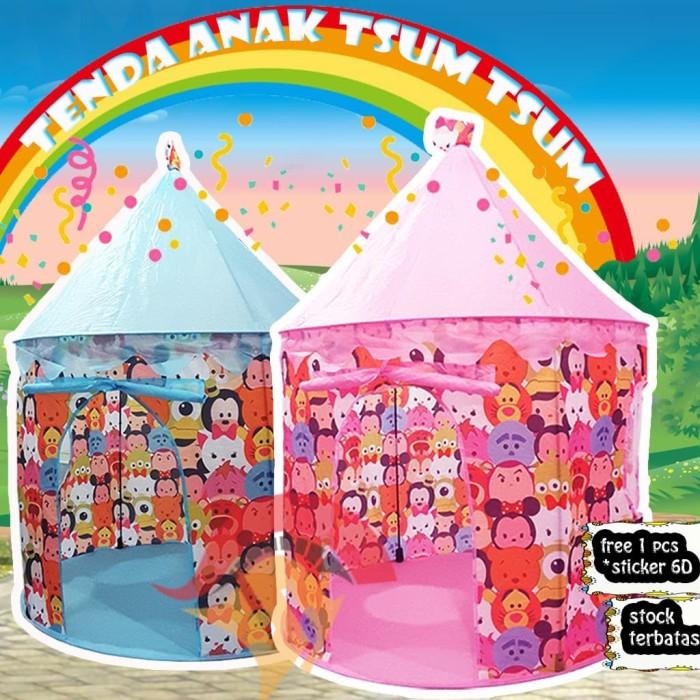 Jual Tenda Anak Tsum - Tsum ##FREE STIKER## / Mainan Rumah ...