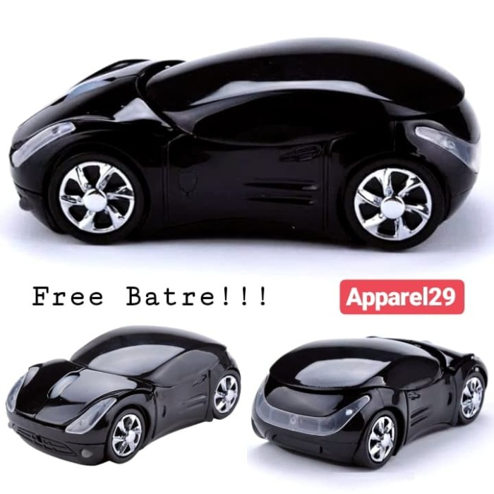 Foto Produk Car Mouse Wireless 2.4Ghz USB Dongle Mouse Mobil TANPA KABEL Wind 7-10 dari apparel29