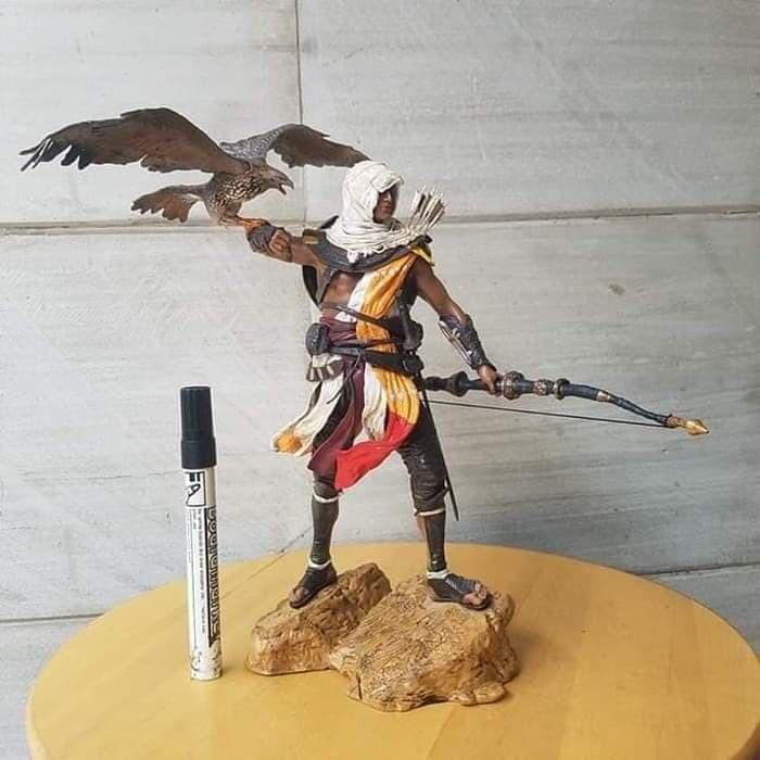Jual Mainan Statue Action Figure Assassins Creed Origins Bayek
