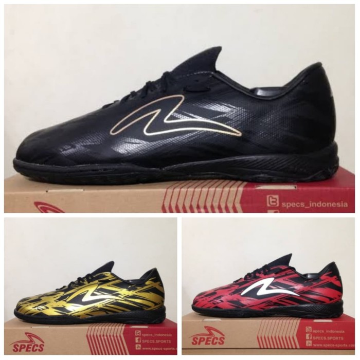 Jual Sepatu Futsal Specs Accelerator Illuzion In Original Merah