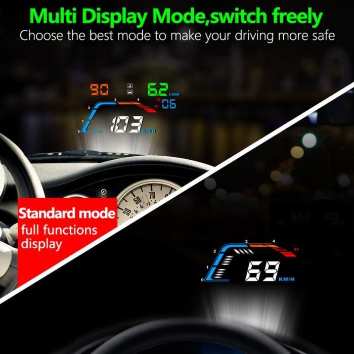 Best Hud For Car >> Jual Hud Head Up Display Q700 Dengan Gps Speedometer Temperatur Untuk Dki Jakarta Edwars Ruko Tokopedia
