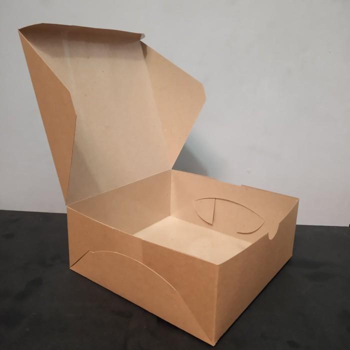 Jual Lunch Box Paper - Catering Box uk  L Polos - Laminasi Anti Rembes -  Kota Bandung - Raja Cetak Packman | Tokopedia